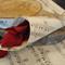 10 x Vintage Music Confetti Cones Vintage Rustic GatsbyWedding Rose Petals