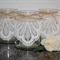 6 x Lace Jute Glass Jars Vases Vintage Rustic Chic Wedding Table Decorations
