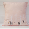 Pink Deer cushion cover