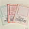 Dahlia Flower Birthday Pack of 3 Cards