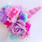 Reserved Listing for Sharon,  Unicorn flowercrown and matching fairy wand