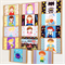 Children's Character Birthday Blank Card Set of 14 Cards for all Occasions