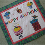 SALE - Happy Birthday Hanging / Table Topper - Very Hungry Caterpillar