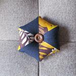 Pincushion - Vintage Fabric and Denim