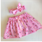 Pretty girls skirt and topknot set , size 3.