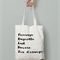 French shopping calico tote bag canvas market beach bag shopper