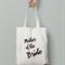 Mother of the bride tote bag bridesmaid bag gift bag wedding