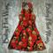 Rockabilly Skulls Resting in Roses Halter Neck Dress Clothing