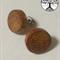 Hand Turned Wood Stud Earrings