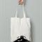 cranky monster calico tote bag canvas market beach bag shopper