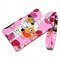 Cute Owls on Pink Fabric Luggage Tag Bag Tag