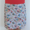 Ladies A line skirt with stretch waistband