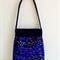 blue vine purse