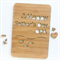 Father's Day custom card fish laser cut bamboo wood happy fathers day dad