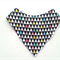 Geometric tri colour Bandana bib