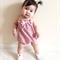 Pink Leopard Pom Pom Romper - baby, girl, toddler, birthday, Summer