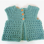 Baby cardigan crochet cardigan girl's baby shower newborn gift