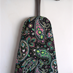 Ironing Board Cover - green and pink retro paisley