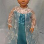 Frozens Elsa Gown