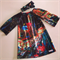 Abstract Melbourne Size 6 Long Sleeve Smock Dress
