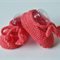 Hand Knit Newborn, Wool Tie Mary-Jane Style Shoes, Apricot