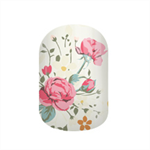 Cottage Blossom Nail Wraps / Nail Decals / Nail Stickers