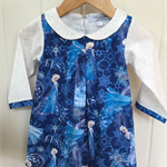 Frozen dress or top.  Made to order sizes 1 2 3 4 5 6 7 & 8