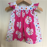 Lovely girls dress/top.  Made to order sizes 3m, 6m, 1 2 3 4 5 6 7 8 9 10