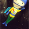 The Space Kids Handmade Super Hero Boy Soft Toy Doll-Asteroid