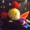 The Space kids Handmade Super Hero Girl Soft Toy Dolls- Galaxy