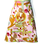 Size 18 - Ladies Retro Pin up Girl A line Skirt - LAST ONE !!