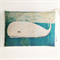 Whale Wheat Bag ORGANIC WHEAT - Art by Rondelle Douglas