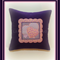 Appliqued Loveheart Cushion Cover