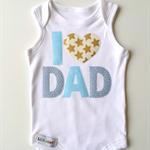 Boys Newborn New Dad 1st Fathers Day Fathers Day Dad Onesie