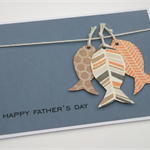 Fishy Fishy - Handmade Father's Day Card