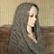 Women's Crochet Infinity Scarf, Crochet Chunky Scarf, Infinity Cowl, Wool Lace
