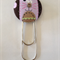 Cat Button Paperclip Bookmark