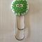 Alien Button Paperclip Bookmark