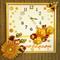 Wall Clock, Baby Shower Gift Nursery Art, Yellow White Toy Duck, Newborn Baby