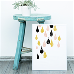 "Raindrops are Falling Print 8""x10"""