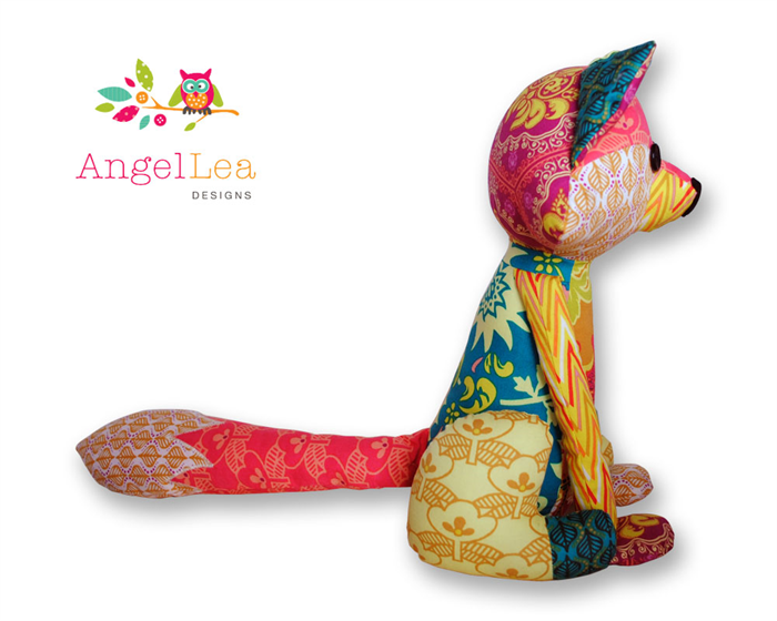 Fox Softie Pattern Pdf Sewing Pattern For Stuffed Animal Patchwork