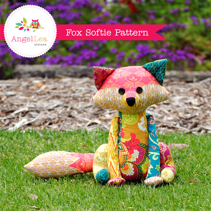 Fox Softie Pattern PDF Sewing Pattern for Stuffed Animal Patchwork ...
