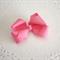Hayley - pink bow clip