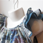 """Frill Sleeved Top Size 5  Liberty """"Mauvey"""""""
