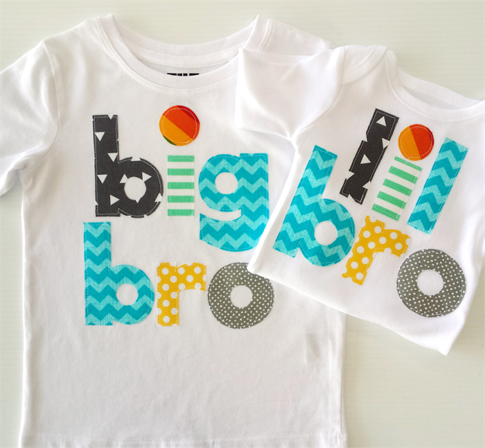 f86a57d09e Big Brother Little Brother Birth Announcement Tshirt Onesie Matching Set