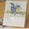 Qty 3 Desk Calendars 2016 - Australian threatened species - animals birds