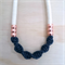 TwistKnot Necklace with Copper - Choose your colour