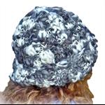 Bulky adult unisex beanie, Merino wool, ribbed, texture.