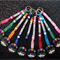 10 pack DISCO dancer ball party favour key rings bag tag personalised present gi