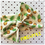 Pineapple headband hair band cotton bow know baby toddler